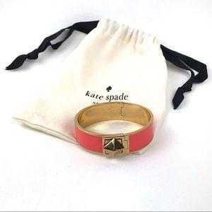Kate Spade Turn Lock Hinged Bracelet Bangle